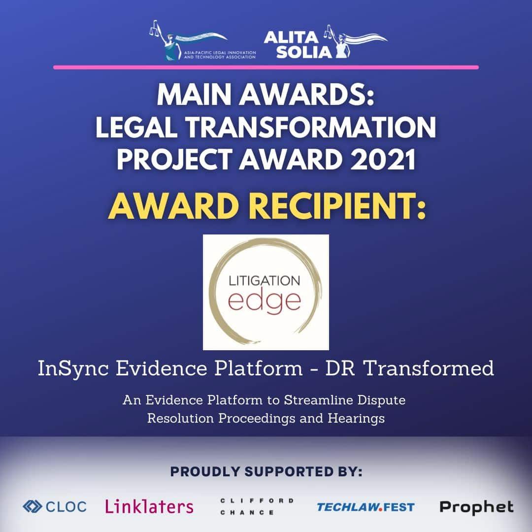2021 ALITA SOLIA Award Winner